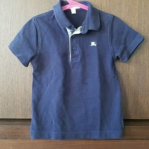 Burberry boys signature polo in size 8Y